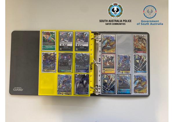Arrestan a 5 personas por robar tarjetas de Digimon